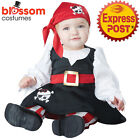 CK913 Petite Pirate Infant Toddler Girls Kid Child Fancy Dress Up Costume Outfit