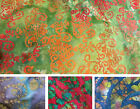 100% Cotton Thai Batik Fabric Hand Dyed & Printed in Thailand