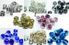 15 (PCS) OF 10MM CZECH FIRE POLISHED FIREPOLISHED CUT GLASS ROUND BEADS