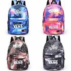 Boys Girls Galaxy Canvas Leisure Rucksack Travel Backpacks School Shoulder Bags