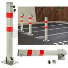 FOLDING PARKING BARRIER CAR BOLLARD VEHICLE DRIVEWAY CAR SAFETY SECURITY POST