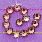 (Any SIZE) Light Amethyst Iron On Flatback Hot fix Rhinestones Crystal Nices