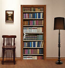 3D Bookshelf 104 Door Wall Mural Photo Wall Sticker Decal Wall AJ WALLPAPER AU