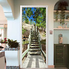 3D Wood Steps 286 Door Wall Mural Photo Wall Sticker Decal Wall AJ WALLPAPER AU