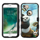 Kungfu Panda Rugged Impact Armor Case for iPhone 5s/SE/6/6s/7/Plus