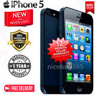 New in Box APPLE iPhone 5 4s Black White 4G GSM Factory Unlocked Smartphone GG11