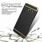 Shockproof 360° Protective Hard Case Cover For Samsung Galaxy S7/S7 Edge Black