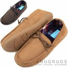 Mens / Gents Moccasin Style / Indoor Shoe / Slippers with Tartan Inner