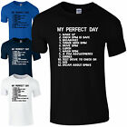 My Perfect Day BMW T-Shirt - Fathers Day Dad Sport Car To Do List Mens Gift Top