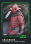 Star Wars Card Trader 2016 Green Parallel Chase Card 63 Sidon #85 of 99