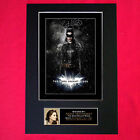 ANNE HATHAWAY Batman Signed Autograph Mounted Photo REPRODUCTION PRINT A4 105
