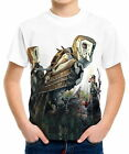 Robot Owls Next To Woman Archer Boys Kid Youth T-Shirts Tee Age 3-13 ael44506