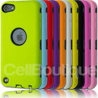 Shock Resistant Armoured  Fitted Case Fits iPod Touch 5th 4th Generation gen