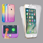 Ultra Thin Slim Fit 360° TPU Gel Skin Case Cover for Apple iPhone 7 7+