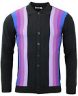NEW! MADCAP ENGLAND RETRO MOD 60s 70s CARDIGAN POLO SHIRT Northern Soul MC218