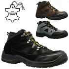 MENS LEATHER STEEL TOE CAP SAFETY WORK HIKER TRAINERS SHOES BOOTS SIZE UK 6-12