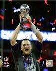 Tom Brady New England Patriots Super Bowl LI Trophy Photo TU021 (Select Size)