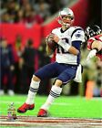 Tom Brady New England Patriots Super Bowl LI Action Photo TU098 (Select Size)