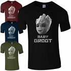 Baby Groot T-Shirt - I Am Cute Guardians of the Galaxy Rocket Kids Mens Gift Top