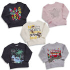 MiniKidz Childrens Printed Novelty Jumper Sweatshirt