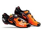SIDI Wire Carbon Road Cycling Shoes - Orange/Black