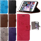 PU Leather Stand Wallet Phone Case Cover Card Slot For Apple iPhone 6 6S 5 5S 4S
