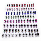 12xCrystal Flower Mini Claw Hair Clip Hair Pin Hair Accessories Baby Girl LadyLA