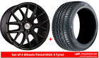Alloy Wheels & Tyres 20'' Dare NK For Peugeot 508 RXH 12-16