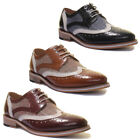 Justin Reece Manley Mens Leather Matt Shoes