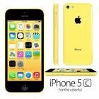 Apple iPhone 4s 5c 8GB 16GB 32GB Factory Unlocked Sim Free Mobile Smartphone US <br/> 12 MONTHS WARRANTY - EXCELLENT WORKING CONDITION