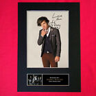 HARRY STYLES No1 Mounted Signed Photo Reproduction Autograph Print A4 309