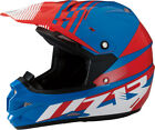 Z1R Roost SE Offroad Helmet Red/White/Blue Adult Size XS-2XL
