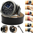 Stylish Leather Strap Band Bracelet For Samsung Gear S3 Frontier / Classic NEW!