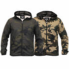 Mens Camouflage Jacket Brave Soul Kagool Coat Military Army Lightweight Mesh New