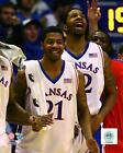 Markieff Morris & Marcus Morris Kansas Jayhawks NCAA Photo TV161 (Select Size)