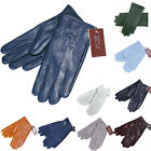 Ladies Womens Genuine Manual Leather Sheepskin Gloves Winter Soft Lined Driving