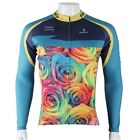 Men Cycling Clothing Bicycle Long Sleeve Jerseys Breathable Top Coolmax Clothing