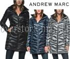 NEW WOMENS ANDREW MARC LONG DOWN 650 FILL DETACHABLE HOODED JACKET! VARIETY 2016