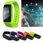 ID107 Smart Bracelet Watch Heart Rate Monitor Bluetooth4.0 Wristband For Android