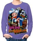 Betty Boop Boy Kid Long Sleeve T-Shirt Tee Age 3-13 ael30124 £11.49 GBP on eBay