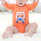 Toddler Baby Long Sleeve Rompers Jumpsuit Boy Girl Kids Bodysuit Outfits Clothes