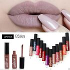Sexy 12 Colors Waterproof Matte Long Lasting Liquid Makeup Lipstick Lip Glosses