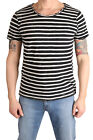 LTB Herren T-Shirt DABITO 84156-886 Black White Stripes