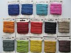 COLOURED JUTE CRAFT TWINE 10m CARD 100% Organic Natural Jute Made in Britain