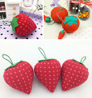 New Cute Strawberry Tomato Needle Holder Home Sewing Craft DIY Tools Storage