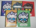 Monster High Boo York Cleo Deuce Elle Eedee Luna Mouscedes King 5 Diary Booklets