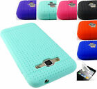 FOR SAMSUNG GALAXY PHONES SLIM FIT SILICONE COVER RUBBER GEL SKIN CASE+FILM