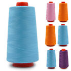New 3000 Yards Industrial Overlocking Sewing Machine Polyester Thread 8 Colors