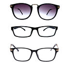 Nearsighted Myopia Lens Square Shape Men Womens Glasses Eyewear + Free Case