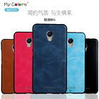 Fashion 360° Protection Shockproof Leather + Soft TPU Case Skin Cover For Meizu